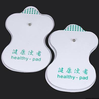 20 Pcs Electrode Pads for LCD Tens Acupuncture Digital Therapy Machine Massager