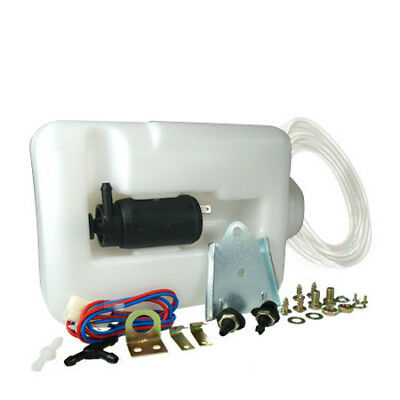 TVR ACP 1.2 Ltr Universal 12v Window Washer Bottle + Pump Kit 'Trade' New XE9