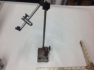 Eclipse No. 101 Surface Gauge Dial Indicator Stand Machinist Inspection Tool
