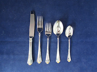 Oneida GOLDEN JUILLIARD 5pc Place Setting (s) MIXED