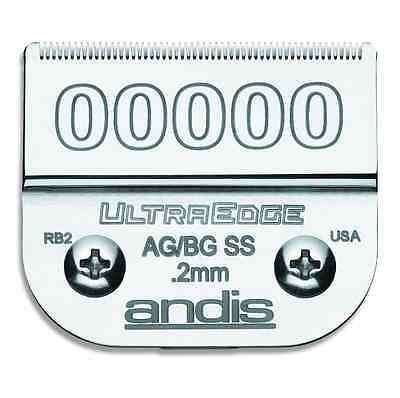 "Andis UltraEdge 00000 Clipper Blade # 64740  1/125""  .2mm"