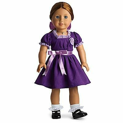 NIB American Girl Retired Emily's Holiday Outfit Dress ~ Complete NIB Molly