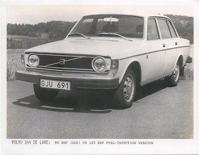 Volvo 144 De Luxe Press Photograph Not dated RHD