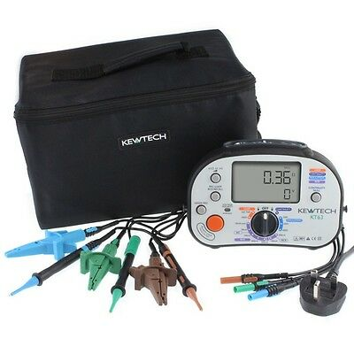 NEW Kewtech KT63 17th Edition Multifunction MFT TESTER   Loop RCD Continuity