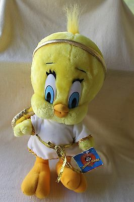 """Angel Tweety 14"""" Plush Toy Figure Looney Tunes 1998 Ace/Play-By-Play w/Tag!"""