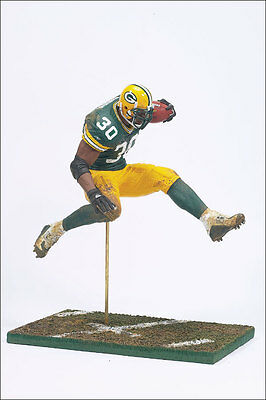 NFL Series 8 Green Bay Packers Ahman Green Action Figure McFarlane Toys