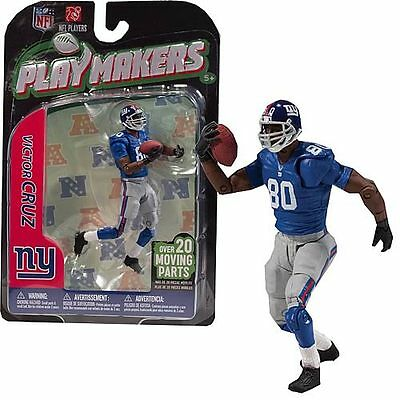NFL Playmakers Series 3 Victor Cruz Giants 4in Action Figure McFarlane Toys
