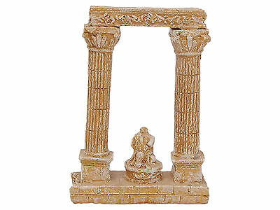 Ancient Columns Aquarium Fish Tank Ornament Decoration