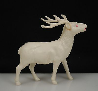 Occupied Japan Celluloid Plastic Reindeer Figurine