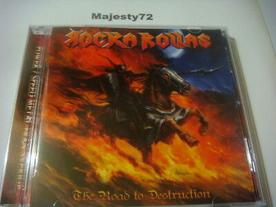 ROCKA ROLLAS-The Road to Destruction NEW 2014 Blind Guardian, Running Wild,