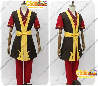 Zuko Legend of Korra Cosplay Costume with boots cover