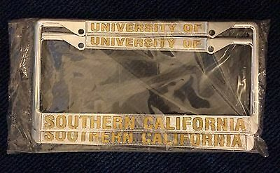 University of Southern California USC License Plate Frame - Pair of 2