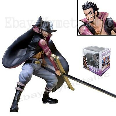 "One Piece Hawk Eye Dracule Mihawk 13cm / 5"" PVC Figure New In Box"