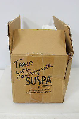 NEW SUSPA MOVOTEC 31 HYDRAULIC LIFT TABLE SYSTEM CONTROLLER  (S4-3-22i)