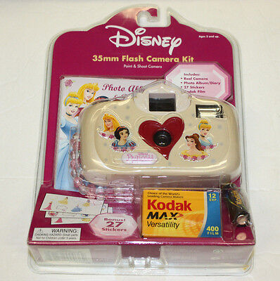 Girl's Disney Princess 35mm Camera Set - BRAND NEW - Fast, EVERYDAY Shipping