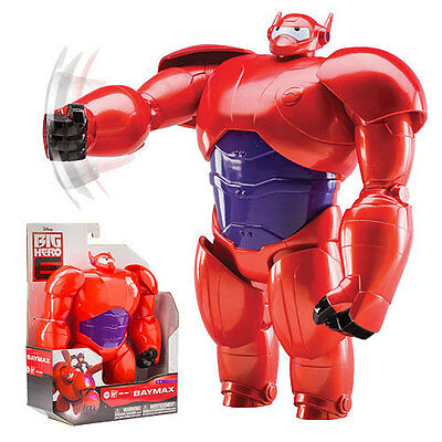 Big Hero 6 Armored Baymax 10-inch Toy Action Figure - Rare!