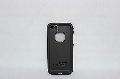 Authentic Lifeproof Fre Waterproof Case for Apple iPhone 5 & 5S Black Shockproof
