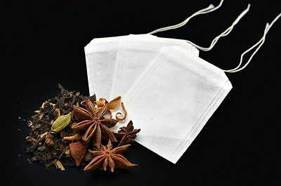 50x Empty Tea Bags - Herbal  infuser t2 loose leaves teabags filter paper