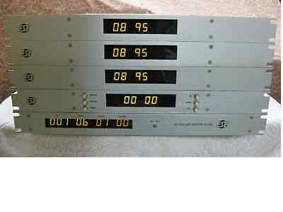ESE ES-185A  24HR GPS Master Clock/w 3 remote displays and 1 timer