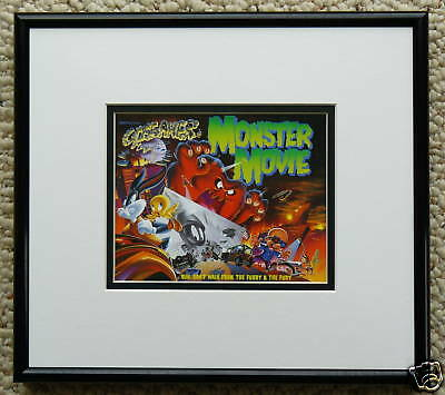 Bugs Bunny Gossamer Framed Monster Movie Cel Promo Card