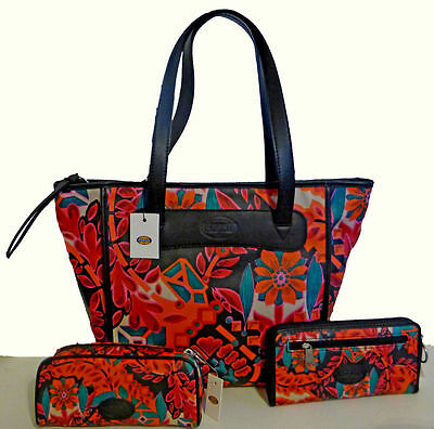 Fossil Keeper Floral collection: tote, crossbody + 5 different accessories NWT