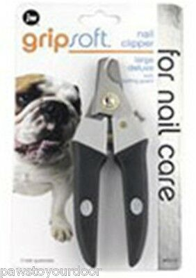 JW dog cat large nail claw clippers trimmers all dogs gripsoft