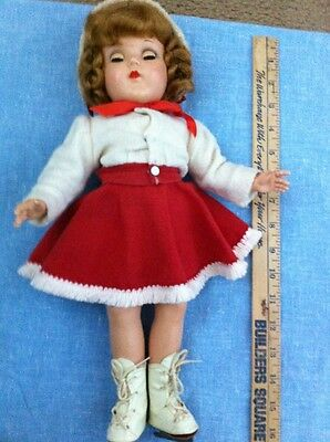 "Gorgeous 1950'sH P ""Toni"" look-a-like!Cute skating outfit!Buy it Now!Near Mint"