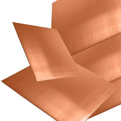 0.7m 0.9mm 1.2mm Copper Sheet Plate Guillotine Cut Metal Copper Sheet