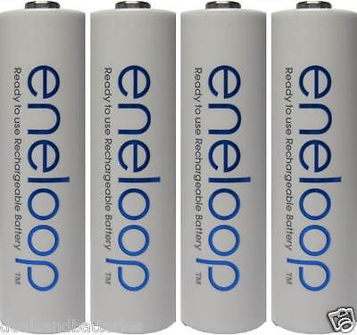 Newest Version Panasonic Eneloop 4 Pk AA 2100 Cycles NiMH Rechageable Batteries
