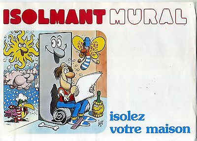Jacovitti. Isolmant Mural. Pub 4 Pages 1982.