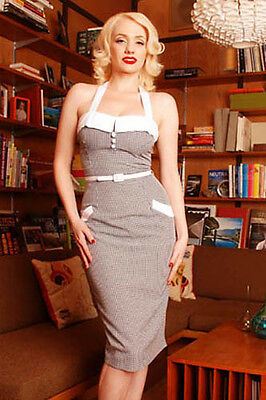 Pinup Girl Clothing Dixiefried Sweetie Pie Dress as seen on AMY WINEHOUSE  2X
