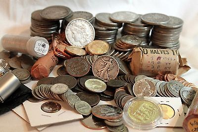 BIG BAGS OLD US COINS from PRIVATE ESTATE HOARD Morgans other RARE COINS BULLION
