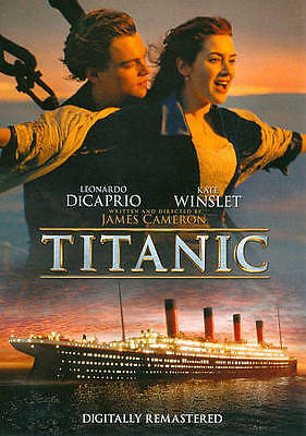Titanic (DVD, 2012, 2-Disc Set) BRAND NEW, FREE SHIPPING