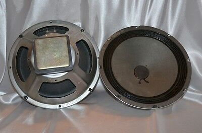 Zenith Carbonneau 10 Inch Woofers From Allegro 3000  Speakers 8 Ohm Pair