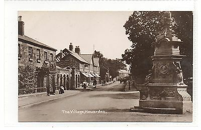 HAWARDEN = RP. The Village. PUB, Shops. Animated. c.1910. Unused.