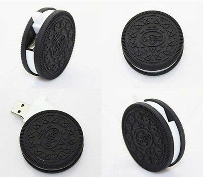 New Chocolate biscuit 8GB USB 2.0 Enough Memory Stick Flash pen Drive