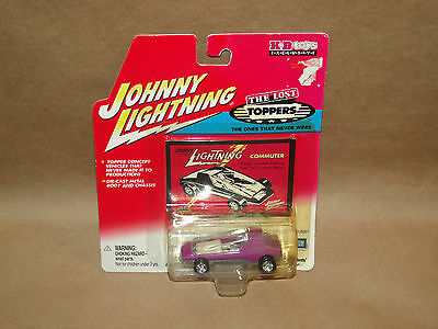 JOHNNY LIGHTNING THE LOST TOPPERS COMMUTER PURPLE NIP