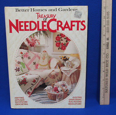 1982 Better Homes & Gardens Hardcover Book Treasury of Needlepoint Crafts