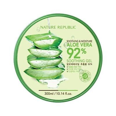 [Nature Republic] Aloe Vera 92% Soothing Gel 300ml, Moisturizer,  skin