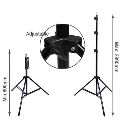 2.8m x 3m Photography Photo Studio Background Backdrop Support Stand 9FT x 10FT