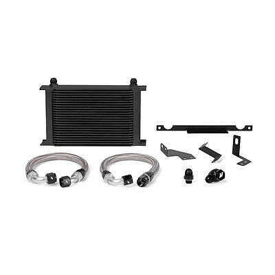Mishimoto Oil Cooler Kit - Black - Mitsubishi Evo 7/8/9 - 2001-2007