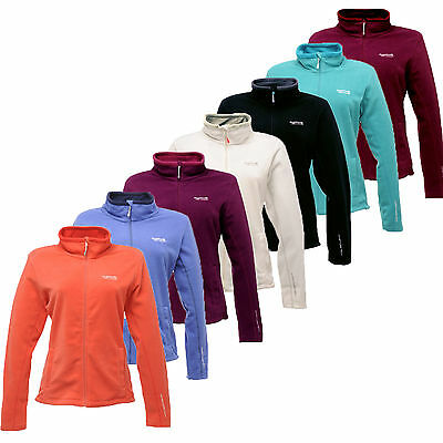 LADIES / WOMENS REGATTA FULL ZIP FLEECE JACKET SIZES 10-26 clmce