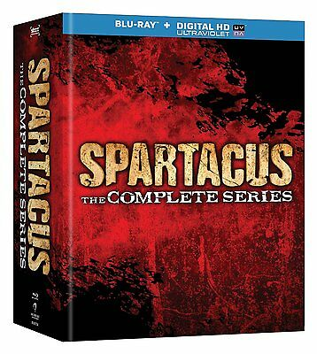 Spartacus: The Complete Series (Blu-ray Disc, 2014, 13-Disc Set)