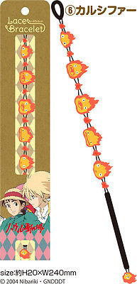 CUTE!!❤Howl's Moving Castle❤lace bracelet❤Calcifer❤Ghibli❤Japan 4108 1130