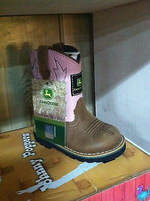 NEW John Deere Infant and Toddler Boot Slippers Sizes 0-12 Mo 3//4 5//6 7//8 9//10