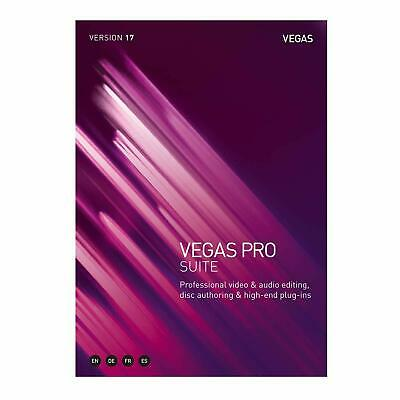 NEW Magix Sony Vegas Pro Suite 17 Video Editing Commercial PC