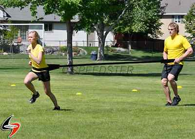 SPEEDSTER Dual Resistance Trainer Speed Training Tether Two Athletes Together