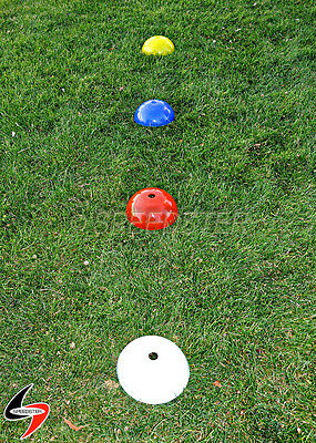 SPEEDSTER Large Dome Speed & Agility Training MARKER CONES w/Carry Handle & Bag