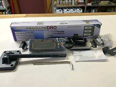 "6"" Absolute Digital Readout DRO Stainless Steel Super High Accuracy w/Remote"
