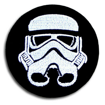 Star Wars Storm Trooper Stormtrooper Patch Iron On Darth Vader  Imperial Movie
